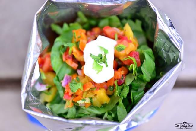 Hawaiian BBQ Taco In A Bag | thegunnysack.com