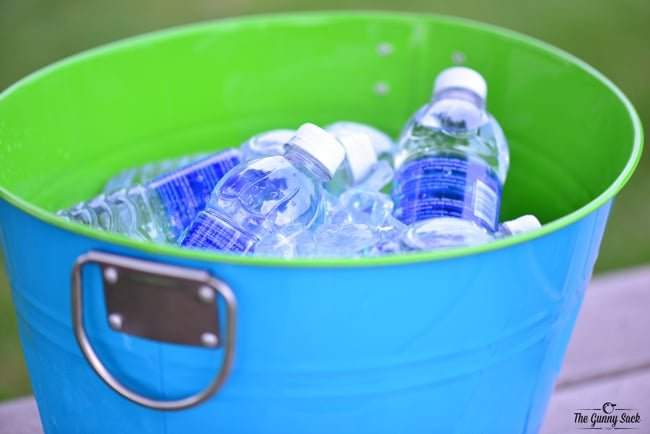 Ice Water Bucket For Parties