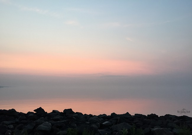 Dawn on Lake Superior Duluth Minnesota | thegunnysack.com