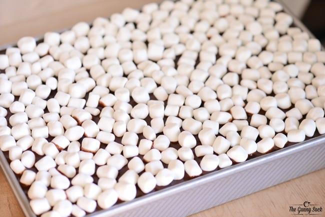 Mini Marshmallows Topping