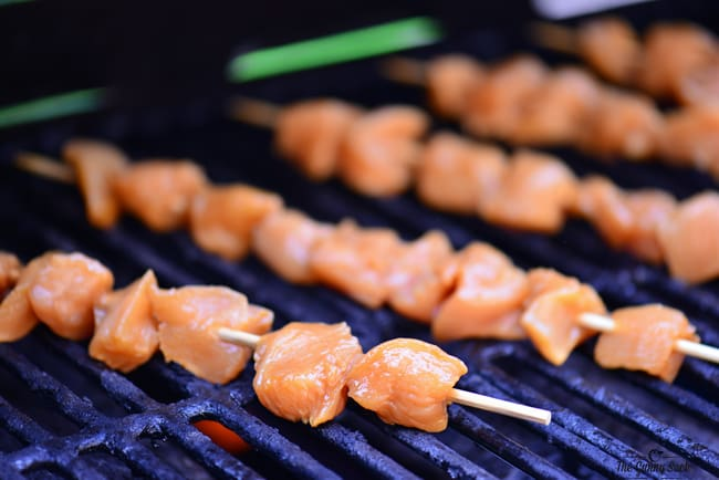Grilled Orange Chicken Kabobs Recipe | thegunnysack.com