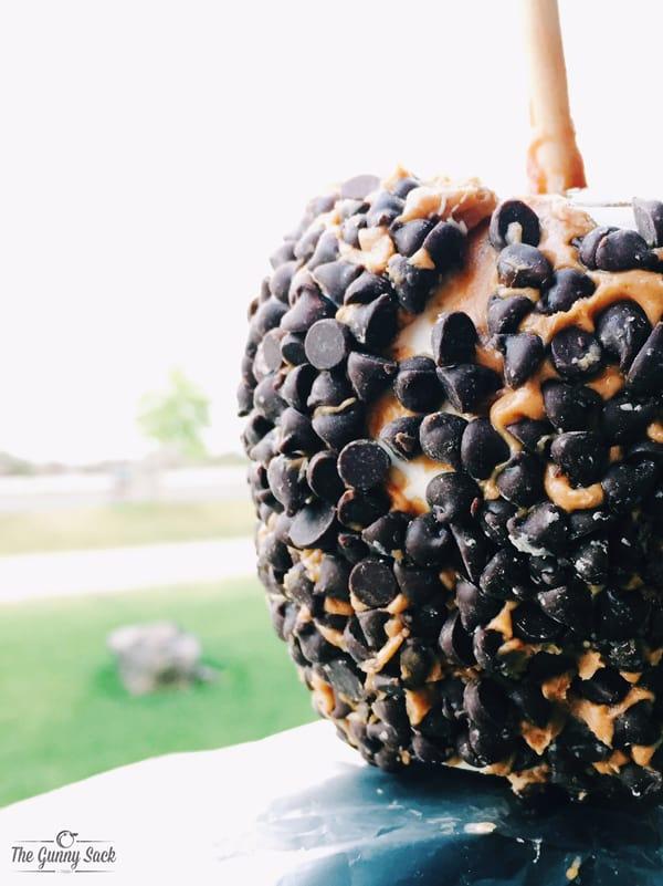 Peanut Butter Cup Caramel Apple | thegunnysack.com