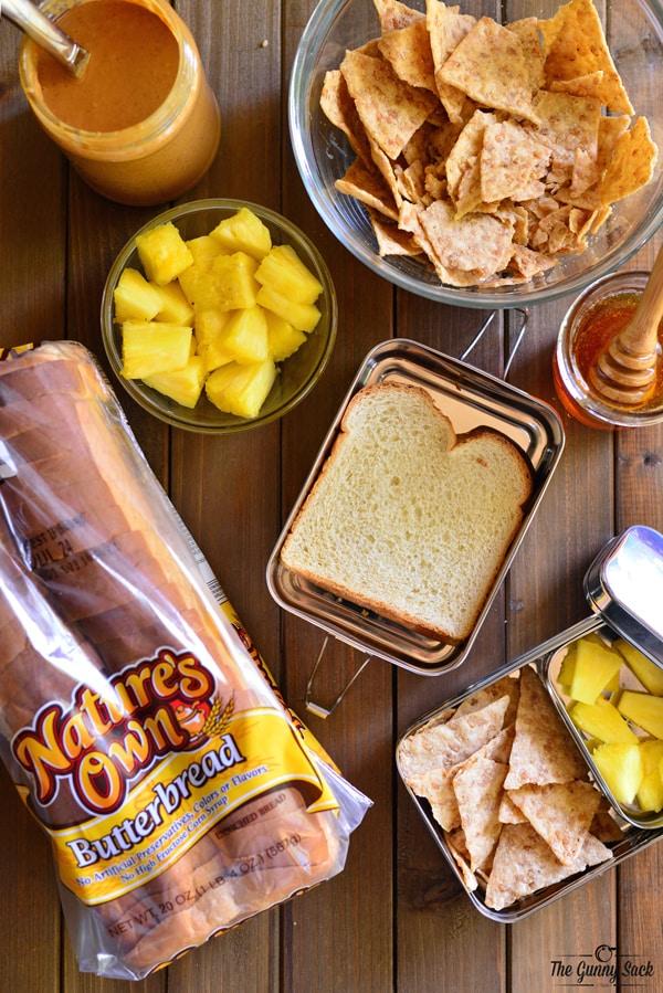 Peanut Butter and Honey Sandwich | thegunnysack.com