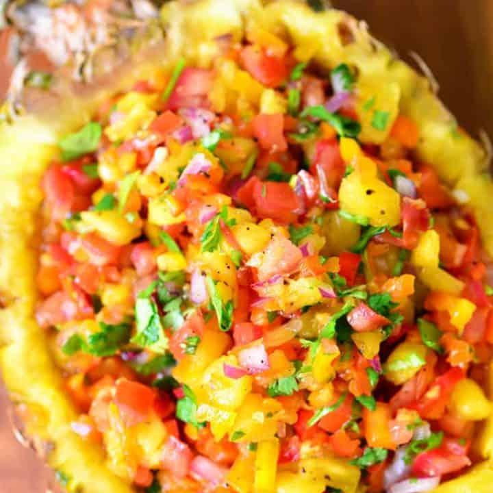 Pineapple Salsa Recipe | thegunnysack.com