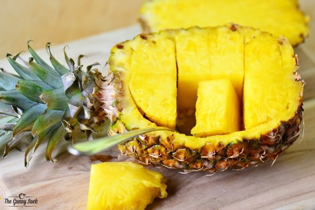 Cutting Pineapple Bowl