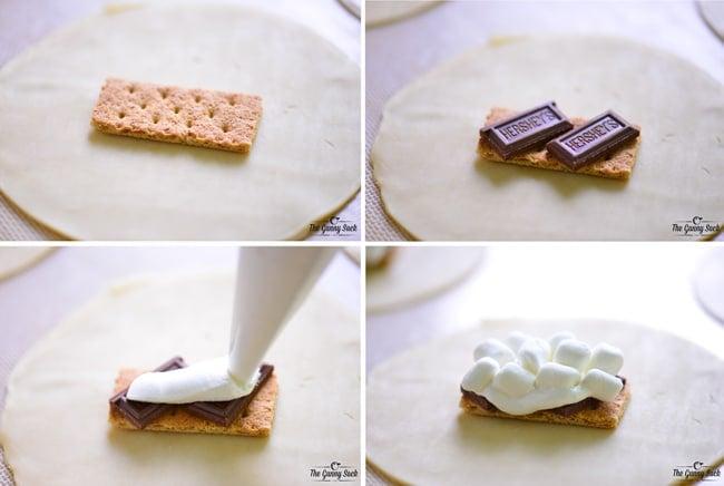 S'mores Hand Pies | thegunnysack.com