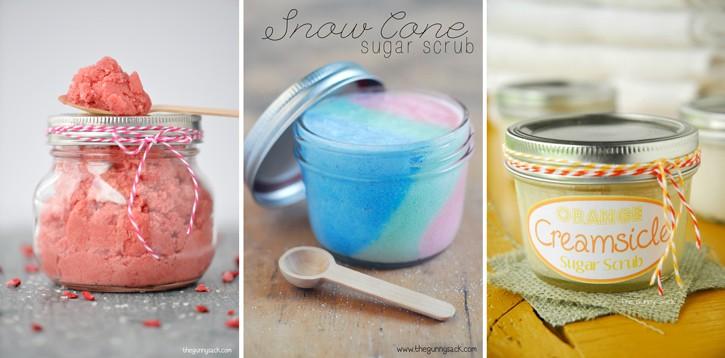 Sugar Scrub Recipes | thegunnysack.com