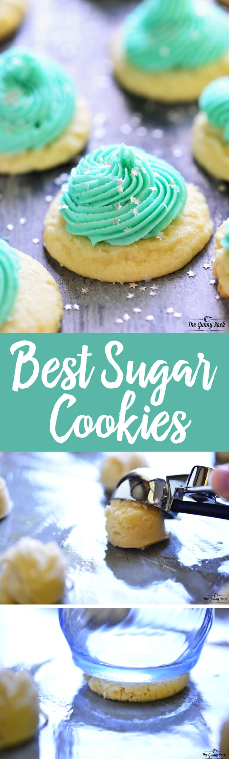Best Sugar Cookies Recipe | thegunnysack.com