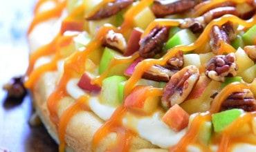 Caramel Apple Fruit Pizza Recipe