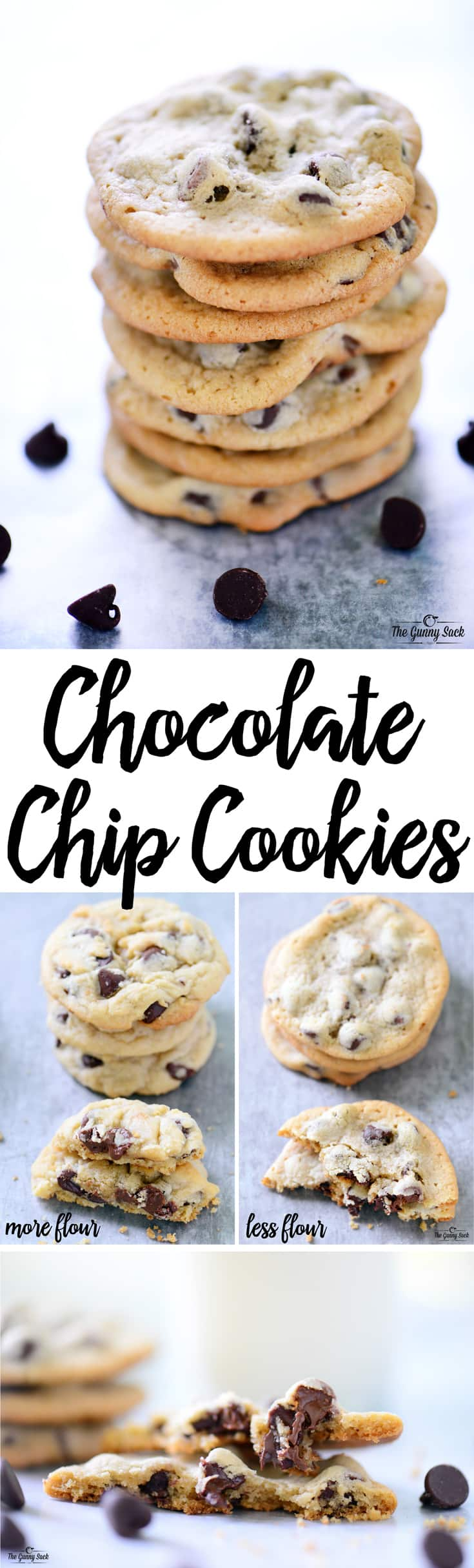 Our FAVORITE Chocolate Chip Cookies are chewy, gooey and slightly crisp on the outside.