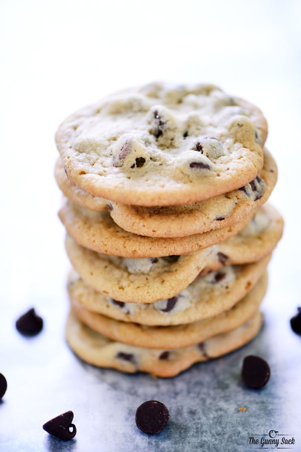 Chewy Chocolate Chip Cookies stick