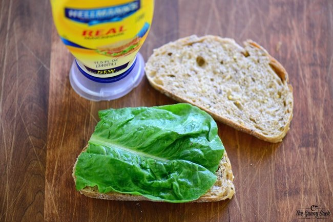 Lettuce Egg Salad Sandwich