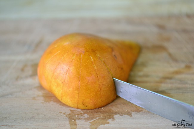 slice pear