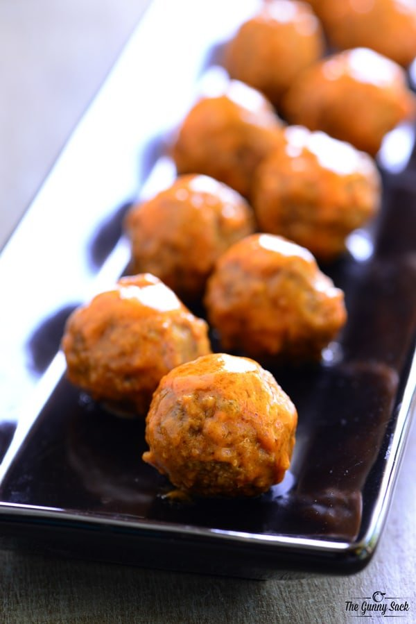 Buffalo Meatballs Recipe