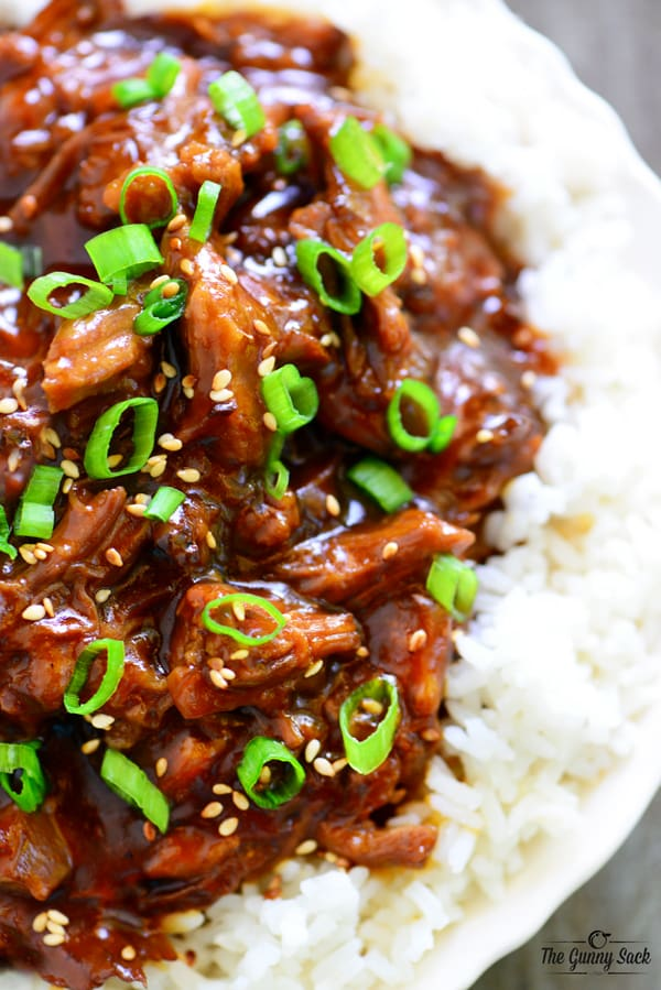 Slow Cooker Orange Beef Recipe