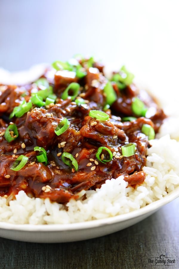 Crockpot Orange Beef Recipe