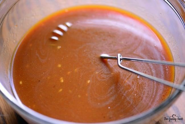 Orange Sauce Recipe