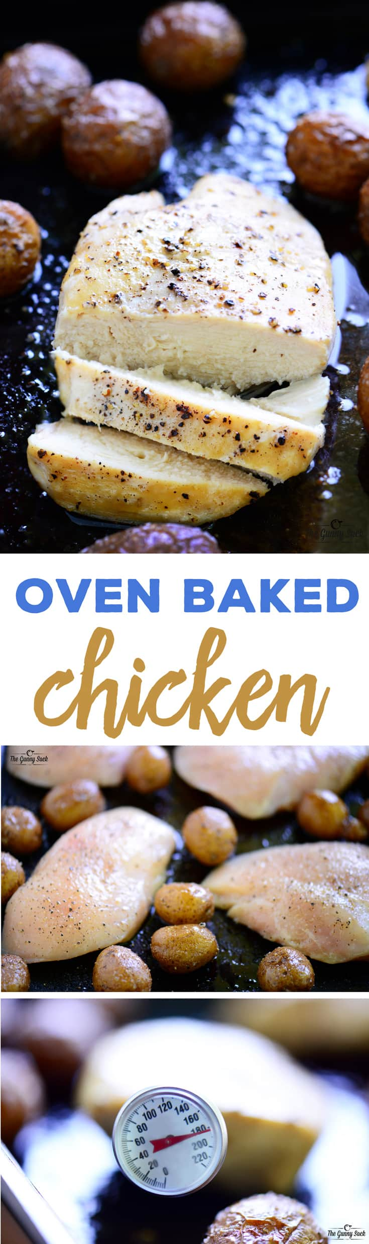 Oven Baked Chicken Recipe