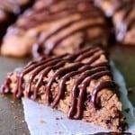 Double Chocolate Banana Scones