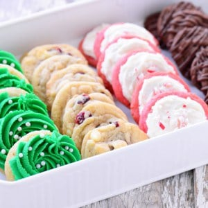 Four Christmas Cookies From One Dough