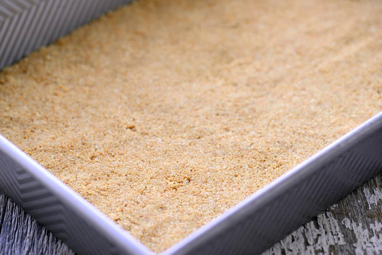 Graham Cracker Crust for Pumpkin Pie Bars