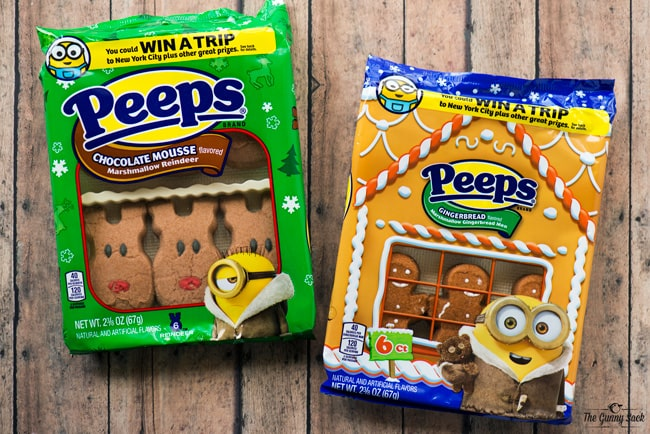 PEEPS Marshmallow Gingerbread Men and PEEPS Chocolate Mousse Marshmallow Reindeer