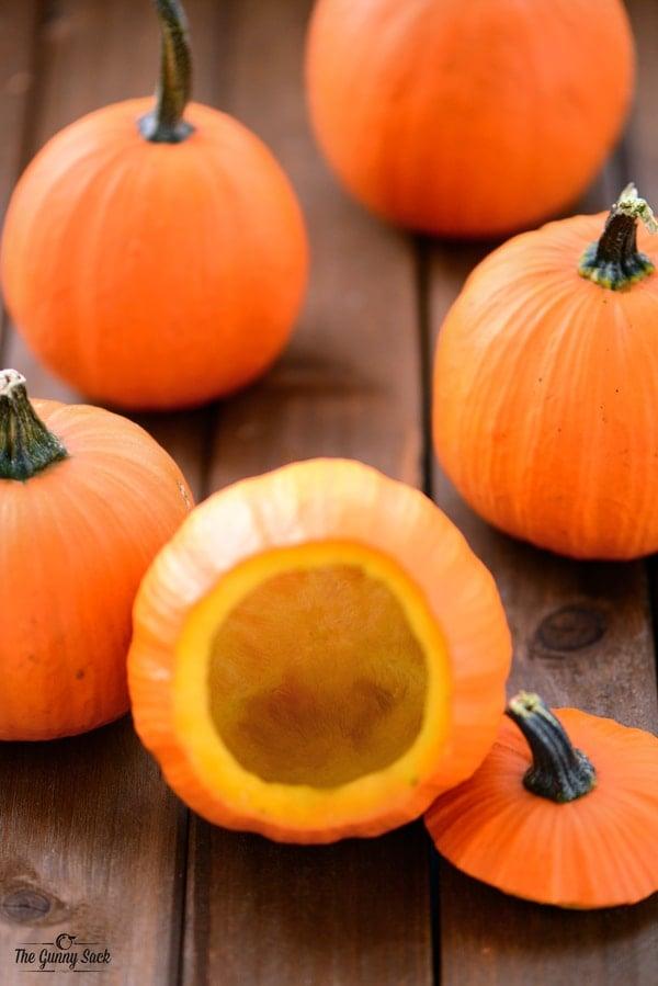 Mini Pumpkin Bowls