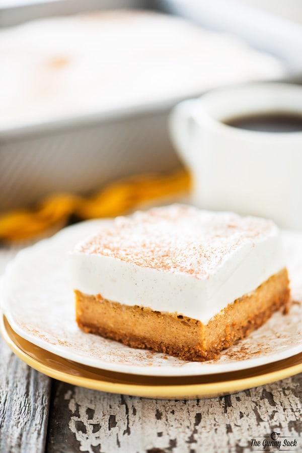 Pumpkin Pie Bars Recipe