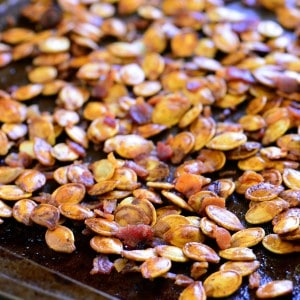 Roasted Pumpkin Seeds With Bacon