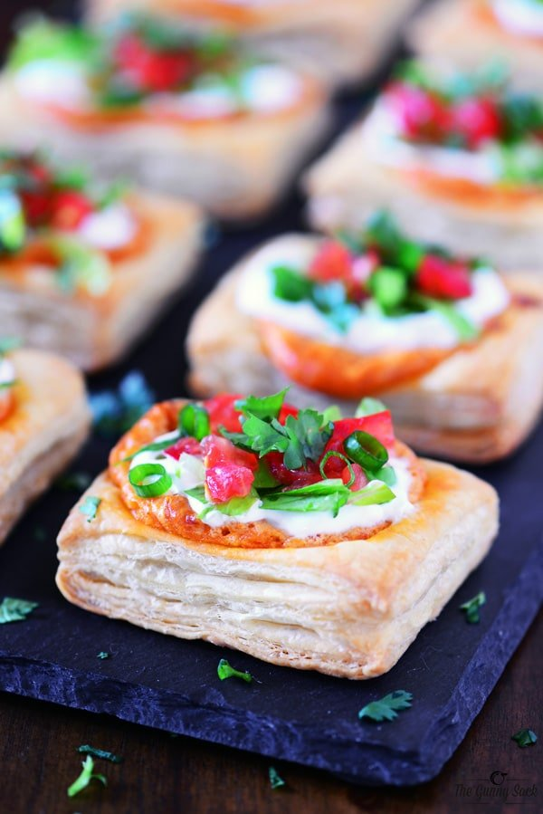 Spicy Taco Pizza Squares