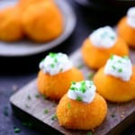 Cheesy Potato Puffs Recipe