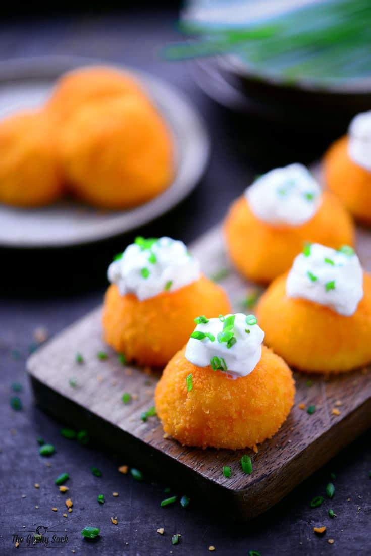 Cheesy Potato Puffs Recipe The Gunny Sack