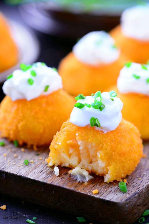 Cheesy Potato Puffs Recipe