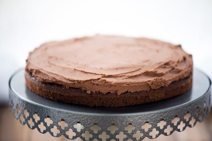 Chocolate Mint Layer Cake