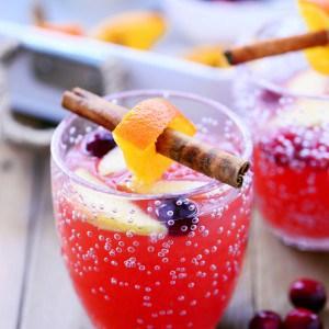 Cranberry Orange Holiday Punch Recipe