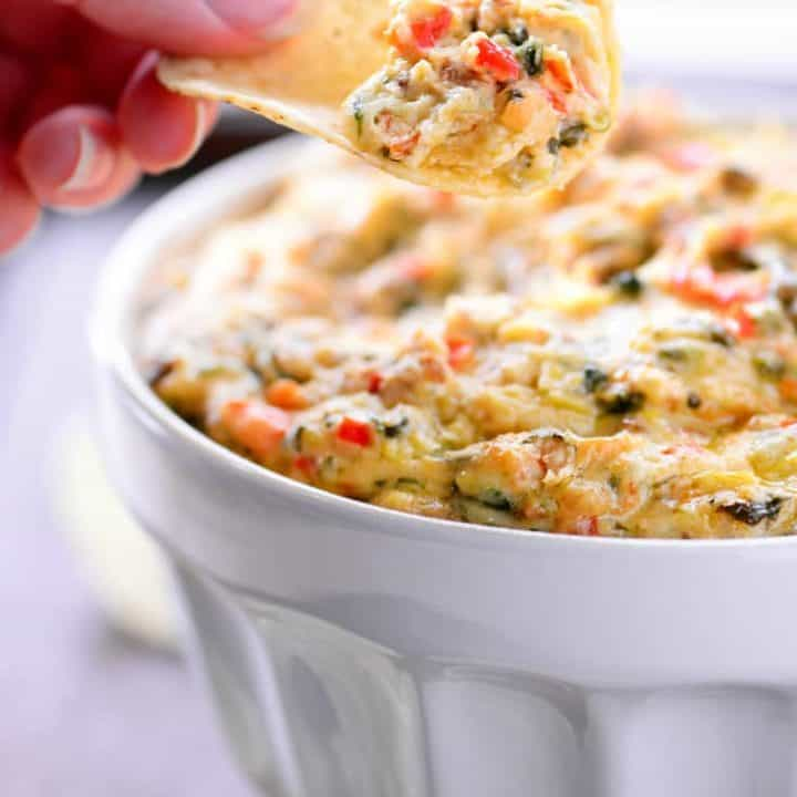 Crock Pot Spinach and Artichoke Dip Recipe