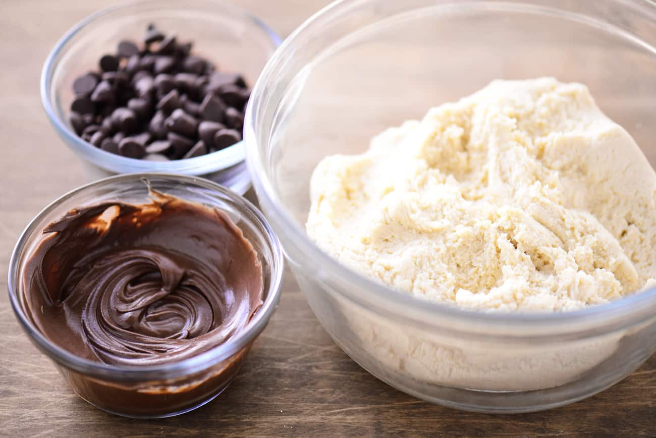 Double Chocolate Cookies ingredients