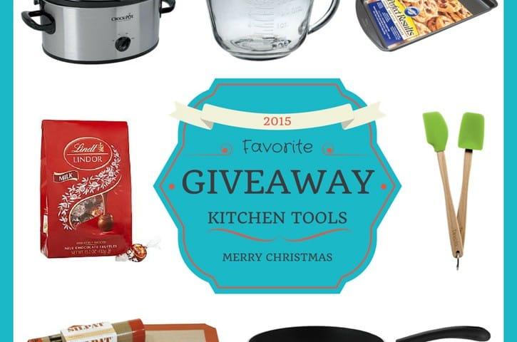 Favorite Kitchen Tools Giveaway