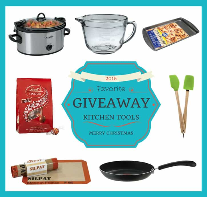 Kitchen Sweepstakes: Favorite Kitchen Tools Giveaway