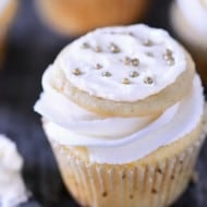 Frosted Sugar Cookie Cupcakes