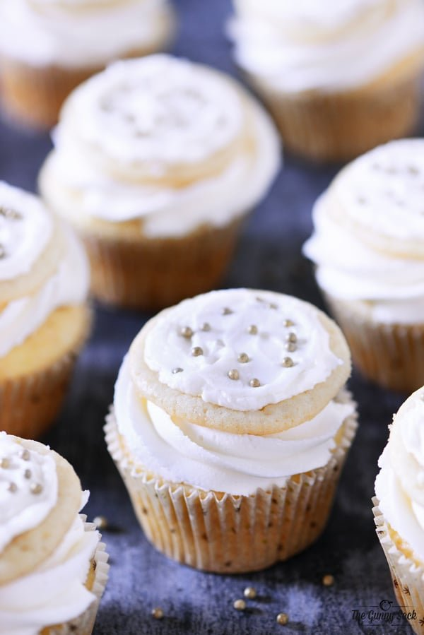 Frosted Sugar Cookie Cupcakes Recipe