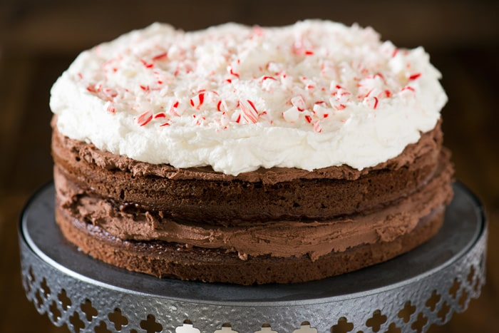 Peppermint Mocha Cake Recipe