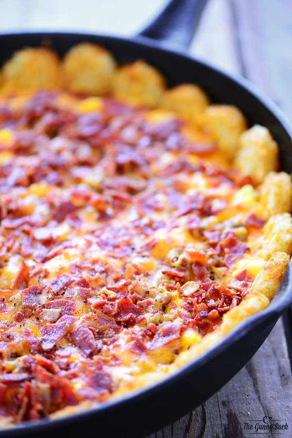 Tater Tot Breakfast Pizza With Video The Gunny Sack