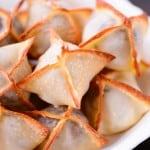 Baked Meatball Wontons Recipe