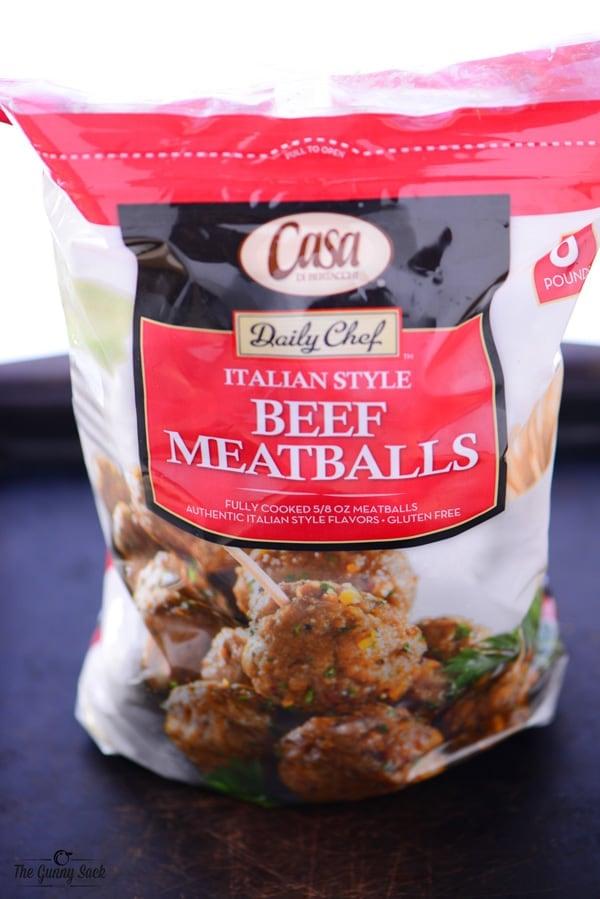 Casa di Bertacchi Beef Meatballs