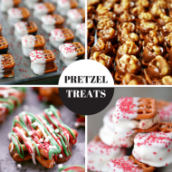 Four Holiday Pretzel Treats