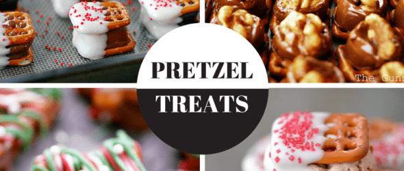 Four Holiday Pretzel Treats
