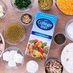 Easy White Chicken Enchiladas Ingredients