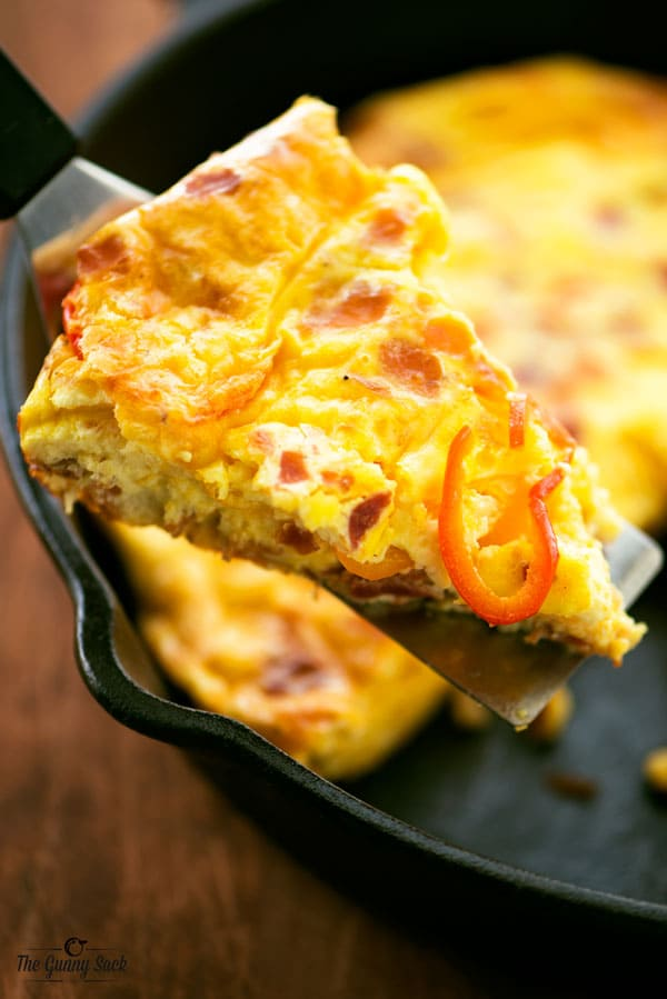 Egg Casserole in pan