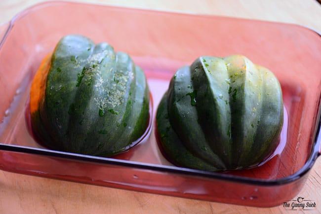 Microwave Acorn Squash Recipe